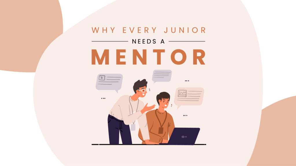 why junior developers need a mentor